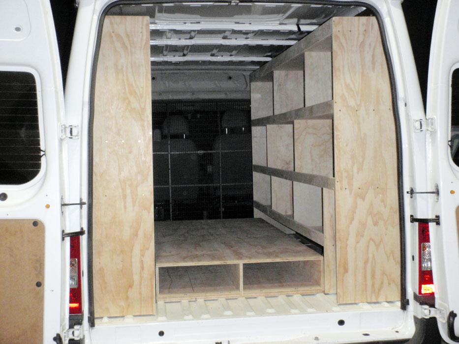 Image Result For Shelving For Vans Cargo Vans
